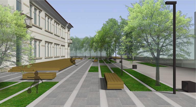 Progetti e concorsi projects and competitions ppz for Arredo urbano srl bolzano